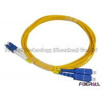 Wholesale Carrier Grade Single Mode Optical Fiber Patch Cord SC To LC Duplex Fiber Jumper from china suppliers