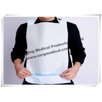 Wholesale Clinics / Salons Waterproof Dental Patient Bibs With Ties , Dental Disposable Products from china suppliers