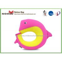 Wholesale Customized Neoprene Kids Travel Pillow U Shape Animal Dolphin from china suppliers
