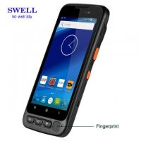 Wholesale Handheld Terminal 5inch Rugged industrial Smartphone with fingerprint 2D scanner and docking station android 7.0 from china suppliers