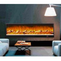 Wholesale Restaurant Decor Wall Fireplace Heater With Remote , Fake Flame Electric Wall Fireplace 750W/1500W from china suppliers