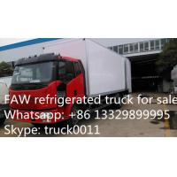 Wholesale China famous FAW brand LHD 4*2 15ton refrigerated truck for sale, FAW brand 10tons-15tons cold room truck for sale from china suppliers