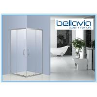 Wholesale Sliding Stainless Steel Showers Stalls Square Shower Enclosure 800 X 800 With Chrome Handle from china suppliers