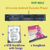 Wholesale 21440 Vietnamese HD songs include 4TB HDD + All-in-one android DVD/HDD jukebox karaoke system support Air KTV function from china suppliers