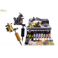 Wholesale Rotary Tattoo Machine Professional Tattoo Kits With Power Supply 110V - 240V from china suppliers