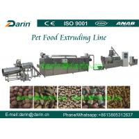 Wholesale Dog Animal Pet Food Extruder Production Machine for corn , soya , bone meal from china suppliers