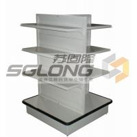 Wholesale Four Way Supermarket Display Shelves Convenience Store Racks Q195 Material from china suppliers