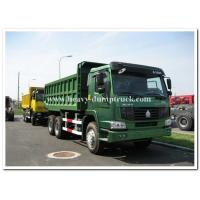 Quality 336 HP heavy duty dump truck sand tipper truck middle lifting type 15 m3 tank body for sale