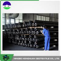 Wholesale 150g Black High Strength Circle Loom Polypropylene Woven Geotextile Filter Fabric from china suppliers
