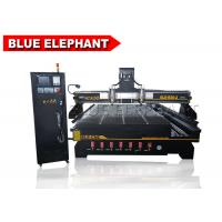 Wholesale Multi head engraving wooden cnc Router machine with 4th axis , doors wood machine from china suppliers