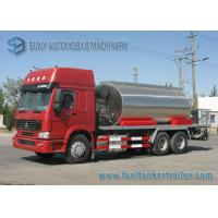 Wholesale Sinotruck Howo series 6X4 Asphalt Tank Trailer 10000 L -11000 L 3 Axles 300Hp from china suppliers