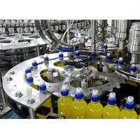 Wholesale 6.68kw Automatic Bottle Filling Machine  / Juice Packaging Machine PLC Control from china suppliers