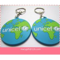 Quality custom 2d/3d promotion soft pvc key ring/soft pvc keychain for sale