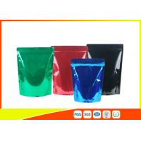 Wholesale Green Tea / Instant Coffee Packaging Bags , Coffee Pouch Bags Blue Green Black from china suppliers