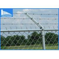 Wholesale Double / Single Straight Security Razor Wire Roll Fencing With PVC Coated Surface from china suppliers