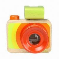 Wholesale My First Wooden Toy Camera from china suppliers
