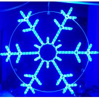 Wholesale rope light snowflake from china suppliers