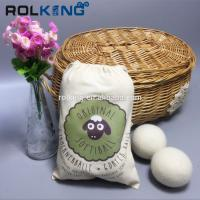 Wholesale china factory Colored Pure Genuine 100% Wool Felt Dryer Ball Nepal Felt Balls from china suppliers