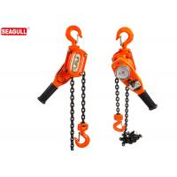Wholesale 3 / 4 Ton Lever Chain Construction Hoist With Durable Powder Coat Finish from china suppliers