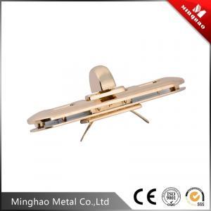 Quality 74.93*20.05mm Light gold bag turn lock,metal zinc alloy handbag turn lock for sale