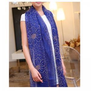 China Fashion Tudung Silk Scarf Flower Embroidery Scarf Muslim Tudung Muslim Scarf on sale