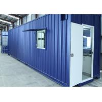 Wholesale Custom Made Refugee Housing Unit , Modified Easy Assembled Refugee House from china suppliers