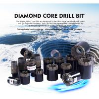 Wholesale High Efficiency Diamond Drilling Tools Rod Shoes / Casing Shoe Bit For Concrete from china suppliers