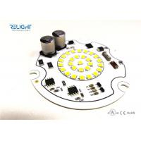 Buy cheap AC 120 V Flicker Free Round Module with 9 W CRI 90 and 95 Lm / W from wholesalers