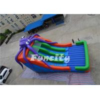 Quality PVC Tarpaulin Inflatable Octopus Slide Inflatable Jumping Slide 10 X 6 X 6m For Kids for sale