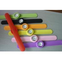 Wholesale fashion silicone snap watch from china suppliers