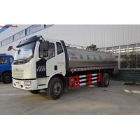 Wholesale Factory sale best price FAW brand foodgrade milk tank transported truck, HOT SALE! FAW brand liquid food tank vehicle from china suppliers