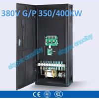Quality 350kw/400kw VFD G/P pump  motor AC drive CNC frequency converter Low Voltage frequency inverter Vector Control Transduce for sale