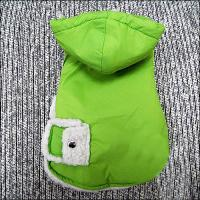 Wholesale Green Warm Dog Hooded Sweatshirts with Cotton for American Cocker, Fox Terrier from china suppliers