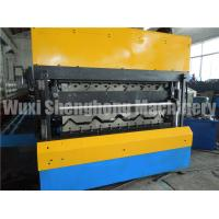Wholesale Double Layer Corrugated Sheet Roll Forming Machine With Hydraulic Station from china suppliers