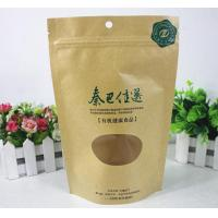 Wholesale Flexible Packing Flat Bottom Food Packaging Plastic Bags With Clear Window from china suppliers