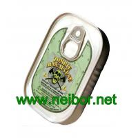 Quality fake Sardine style tin can metal container for paper clips storage for sale