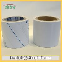Wholesale Stainless Steel Laser Masking Film , Temporary Transparent PVC Lamination Film from china suppliers
