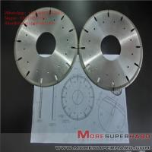 Wholesale Metal Bond Diamond Cutting Disc Glass Ceramics Tungsten Carbide Cut Off Wheels  ALisa@moresuperhard.com from china suppliers