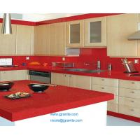 Wholesale Red Quartz Kitchen Countertops from china suppliers