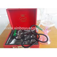 Wholesale Glass shisha hookah with leather case from china suppliers