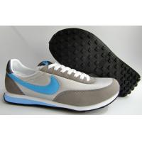Wholesale 2012 latest comfortable Mesh + PU casual stylish walking shoe, Flexible outsole supports from china suppliers