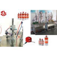Wholesale LPG Gas Aerosol Filling Machines, Gas Lighters Refilling Machines Semi Automatic from china suppliers