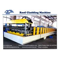 Wholesale Roof Cladding Machine For Light Structural House 0.3mm - 0.8mm Thickness from china suppliers