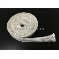Wholesale Electrical Insulation High Silica Fabric , Heat Resistant Sleeving For Cables from china suppliers