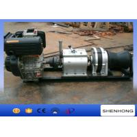 Wholesale 9HP Air Cooled Diesel Engine Cable Winch Axle Bar Driven Tranmission from china suppliers