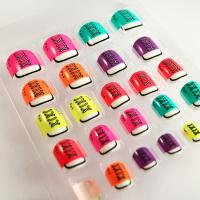 Wholesale Shoes Pattern Colorful Nail Art from china suppliers