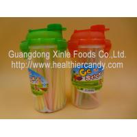 Wholesale Personalized Fruit Flavor CC Hard Candy Sticks Sweets In Cup OEM Available from china suppliers
