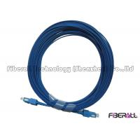 Wholesale G652D SM Fiber Optic SC To SC Single Mode Fiber Patch Cables PC/ UPC Polishing from china suppliers
