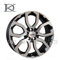 Wholesale 14 Inch - 17 Inch Gloss Black Cast Alloy Wheels Alloy Rims With Red Lip from china suppliers