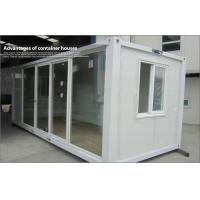 Wholesale Prefab movable assembled glass prefab homes / steel modular store with glass curtain from china suppliers